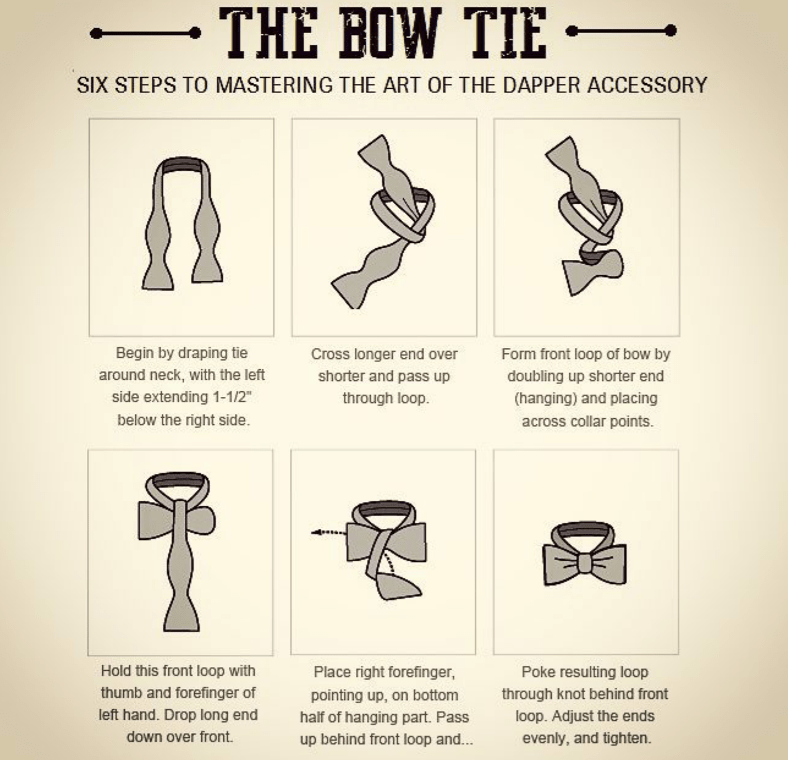 How to tie a self tie mens bow tie kruwear chicago based bow share kruwear ccuart Gallery