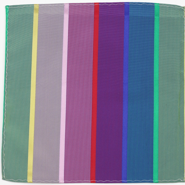 Kruwear Broadway pocket square - 100% silk