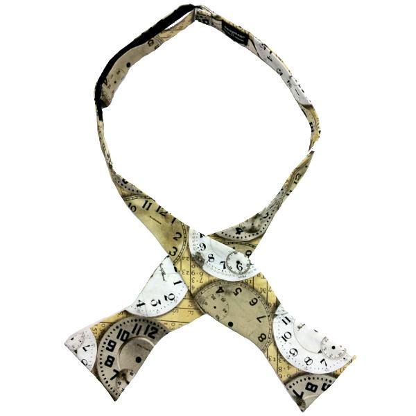 Hooker, a self-tied bow tie by Chicago-based Kruwear