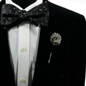 Bow Tie + Lapel Pin