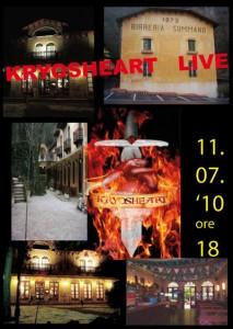 KRYOSHEART live @ Birreria Summano