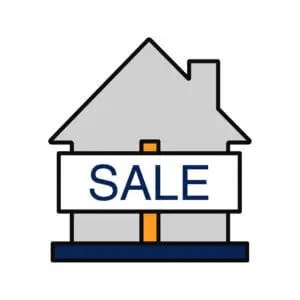 Haus Sale Schild