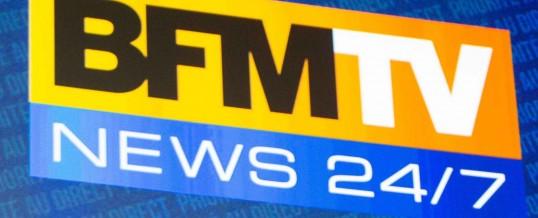 Interview de Christian LUGOT par BFM TV pour la sortie de l'iPhone 7
