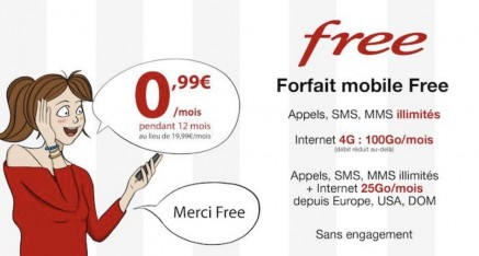 Vente Privée FREEMOBILE à 0€99/mois !!!