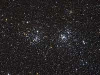 Double Star Cluster in Perseus