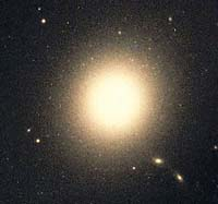 M87 Elliptical Galaxy in Virgo
