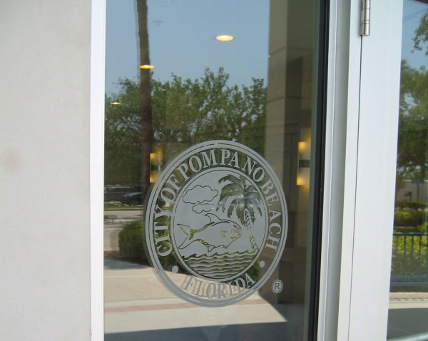 Etched Glass Signs Frosted Illuminated Logos