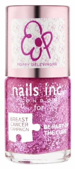 Nails Inc pinkie pink by Poppy Delevigne, £11 - £1 donation