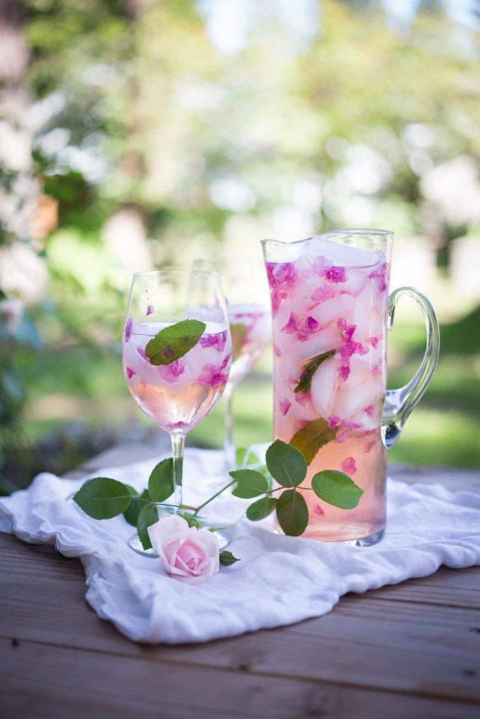 Rosé Rose Petal Sangeria