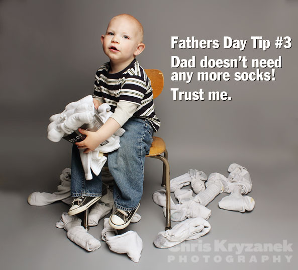Fathers Day tips no more socks photo