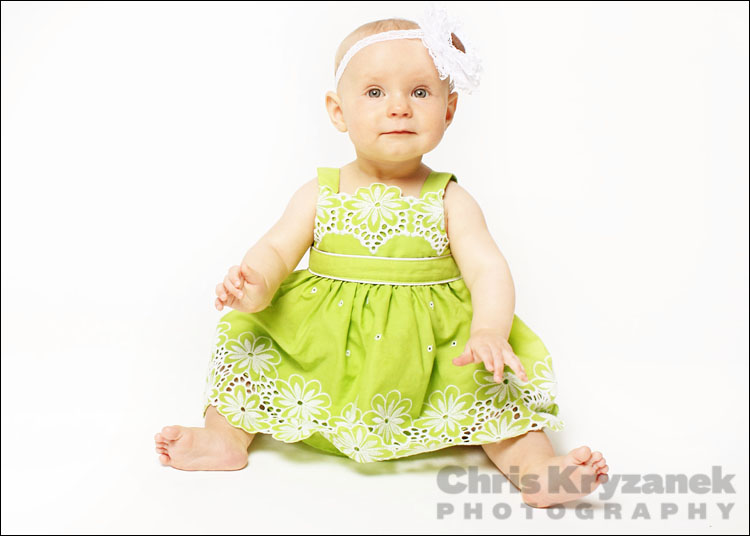 Chris Kryzanek Photography - 6 month baby session