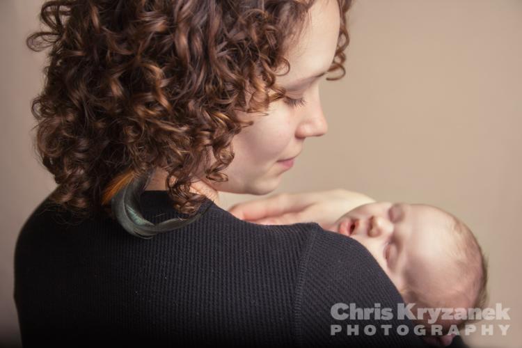 Chris Kryzanek Photography - newborn baby girl with mother