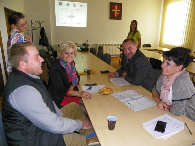 Spotkania w dziewięciu gminach