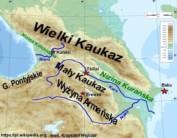 Zakaukazie Granica Swiatow Analiza Krzysztof Wojczal Blog