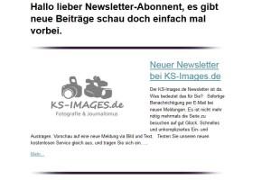 KS-Images.de Newsletter