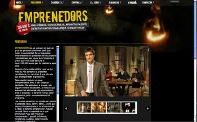 Emprenedors TV3: Programa