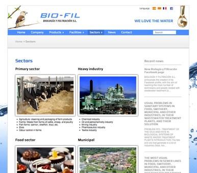Bio-Fil: Sectores