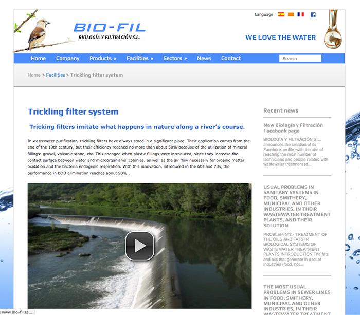 Bio-Fil: Sistemas
