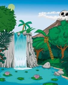 Laguna de las sirenas - Peter Pan