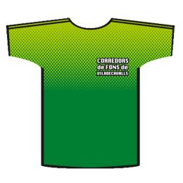 Camiseta running Corredors de fons de Viladecavalls - Delante