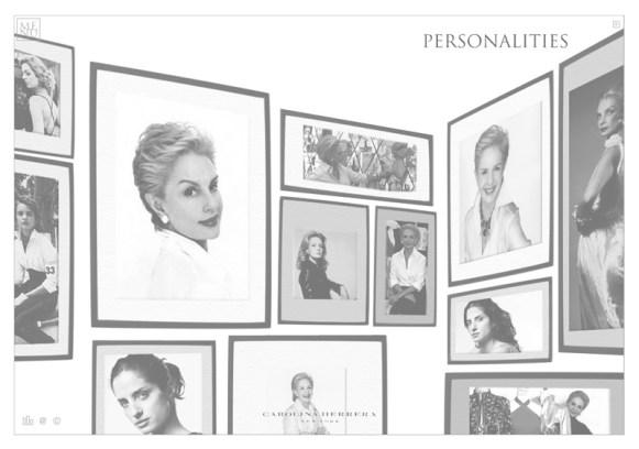 Carolina Herrera Web - Personalities