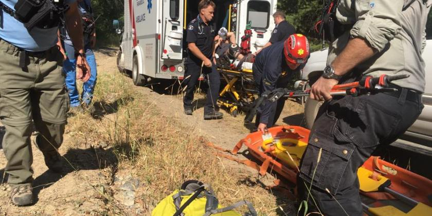 Kamloops Search and Rescue tasked to help one of their own