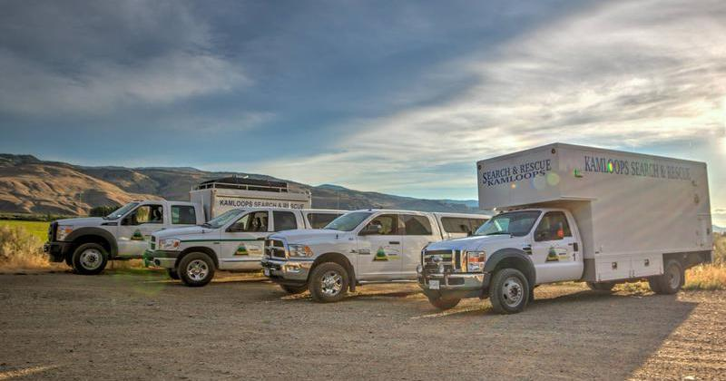 Kamloops SAR uses rope team to rescue crash victim in Deadman Valley