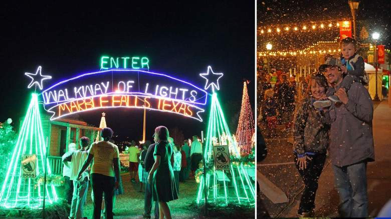 Marble Falls Christmas Lights 2020 Free 44 day celebration lets you walk through 2 million holiday