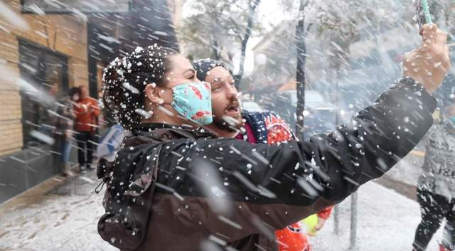 Let it snow, let it snow in San Antonio? Residents, visitors to be showered with snow each Saturday in December