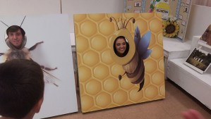 Photography opportunities at the 2015 Honey Booth