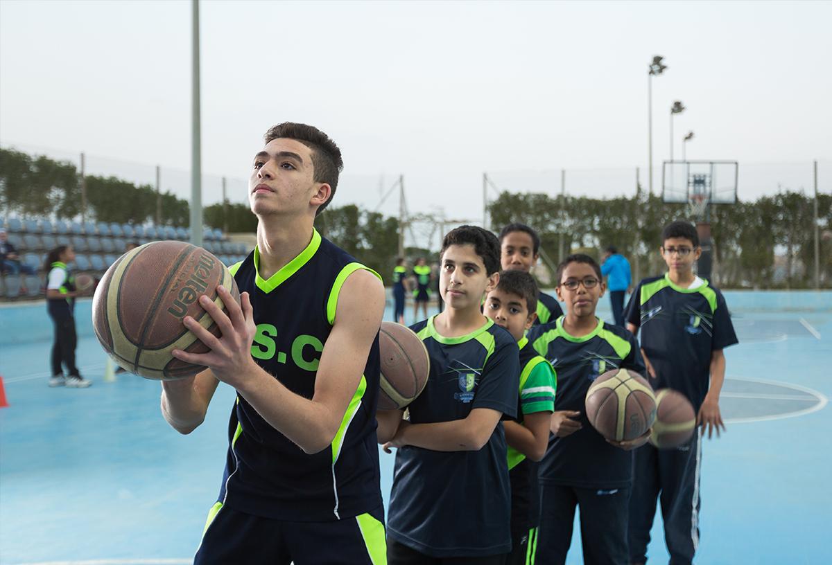 اكاديمية كرة السلة 3