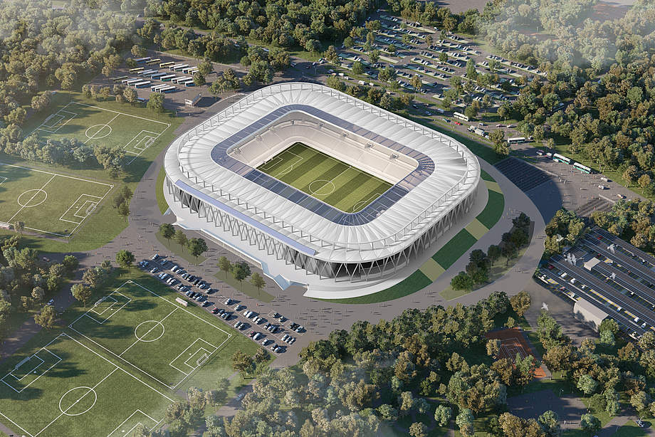 The team took out sc freiburg in the first round and eked out a win on penalties over ssv ulm 1846 in their next match. KARLSRUHE - Wildparkstadion (34,000) - SkyscraperCity