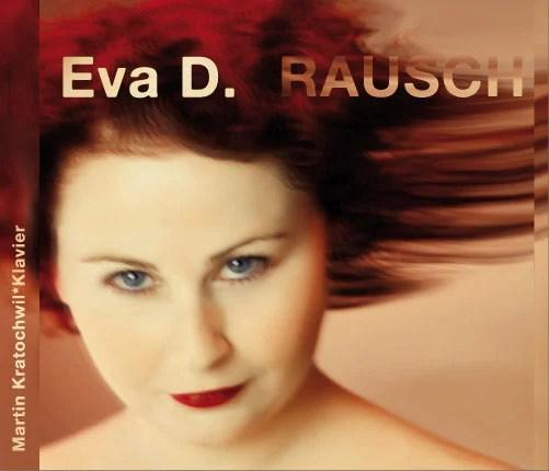 """CD Cover und Booklet: Eva D. - """"RAUSCH"""""""