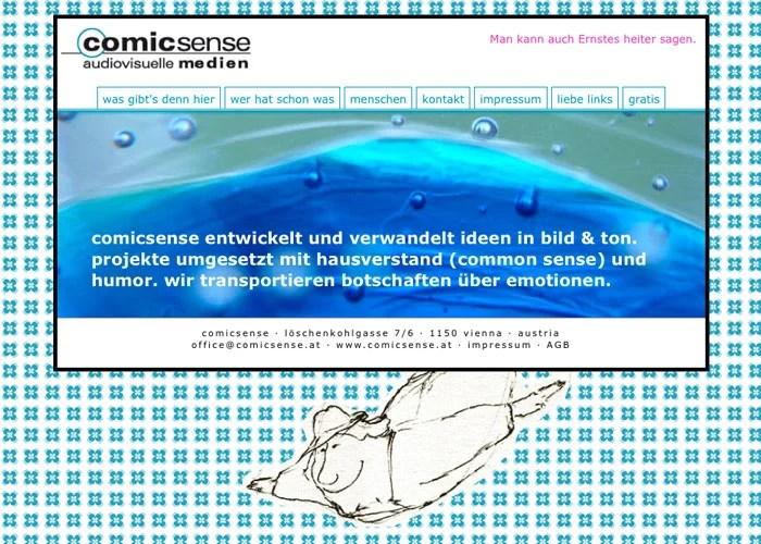 Website und Illustration: www.comicsense.at