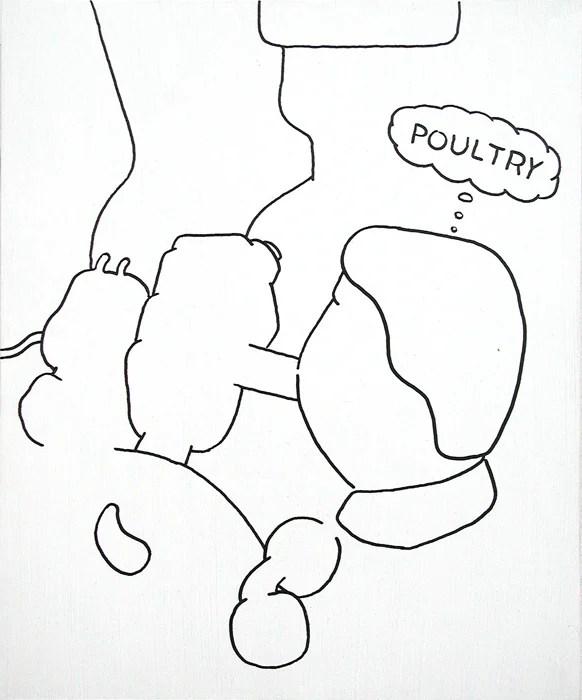 poultry - 25 x 30 cm