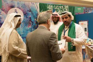 السفير الإيراني لدى الكويت يطلع على اختراع تقدير كمية الكولسترول في الدم في ثواني للمخترع السعودي د. رائد البراداعي