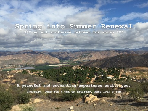 2017 Spring into Summer Health & Wellness Retreat for Women