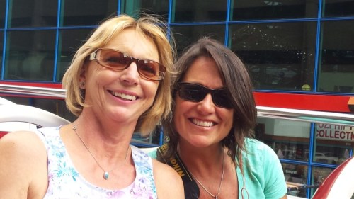 Margie and I on the Johannesburg sightseeing tour