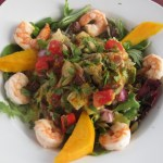 Mecca Azteca Salad with Shrimp