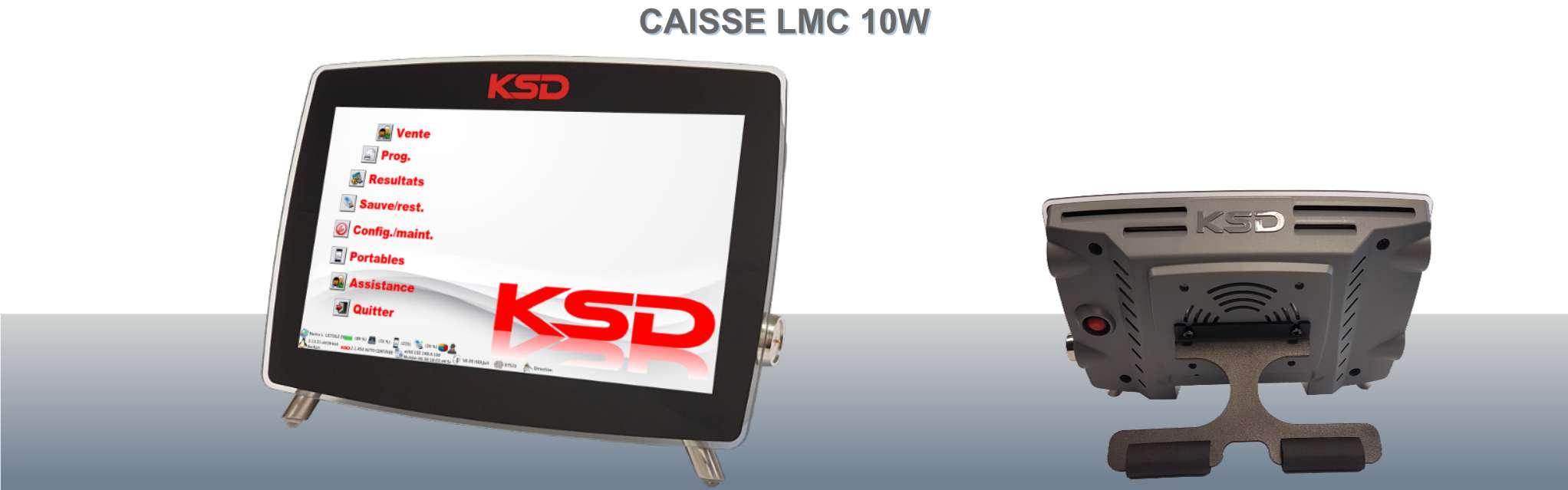 Caisse enregistreuse LMC 10W