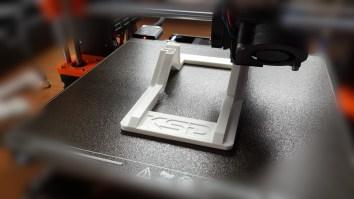 impression en 3D du pied de l'eKo 10