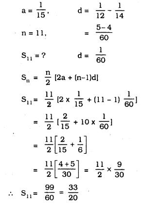 KSEEB SSLC Class 10 Maths Solutions Chapter 1 Arithmetic Progressions Ex 1.3 1
