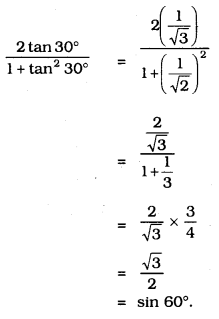 KSEEB SSLC Class 10 Maths Solutions Chapter 11 Introduction to Trigonometry Ex 11.2 6