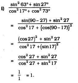 KSEEB SSLC Class 10 Maths Solutions Chapter 11 Introduction to Trigonometry Ex 11.4 4