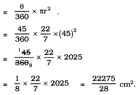 KSEEB SSLC Class 10 Maths Solutions Chapter 5 Areas Related to Circles Ex 5.2 24