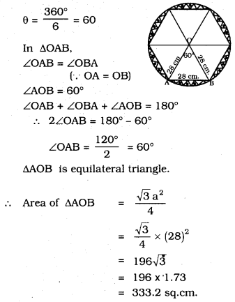KSEEB SSLC Class 10 Maths Solutions Chapter 5 Areas Related to Circles Ex 5.2 29