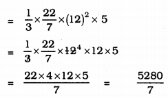 KSEEB Solutions for Class 9 Maths Chapter 13 Surface Area and Volumes Ex 13.7 Q 8.1
