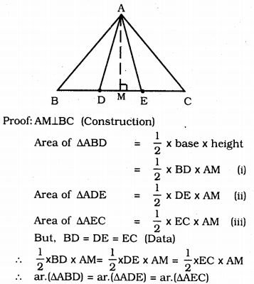 KSSEB Solutions for Class 9 Maths Chapter 11 Areas of Parallelograms and Triangles Ex 11.4 3