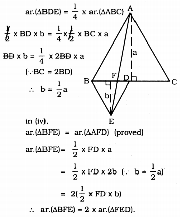 KSSEB Solutions for Class 9 Maths Chapter 11 Areas of Parallelograms and Triangles Ex 11.4 7