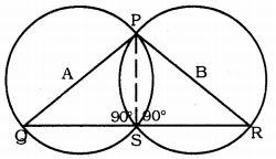 KSSEB Solutions for Class 9 Maths Chapter 12 Circles Ex 12.5 10